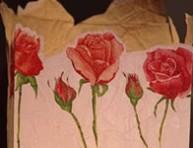 imagen Centro de mesa con rosas