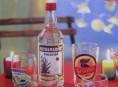 imagen Vasos y botella a la mexicana