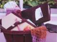 imagen Cuadernos con forro de piel