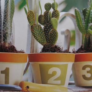 Jardineras de barro decoradas bricolaje gu a de - Jardineras de barro ...