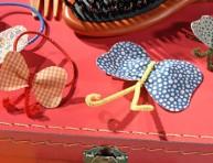imagen Apliques de mariposas para el pelo