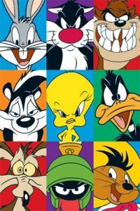 mini-cuadro-con-divertidos-personajes-de-looney-toons