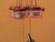 imagen Frascos colgantes para velas