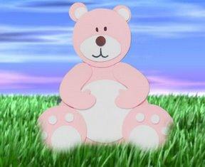 Manualidades para niños oso en goma eva