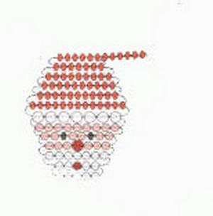 Modelos de adornos navideños con abalorios y cuentas-01