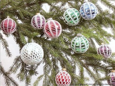 Adornos navideños a crochet 1