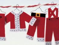 imagen Adornos navideños: colgantes de fieltro