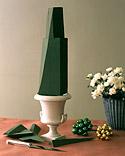 Centro de mesa navideño con flores 3