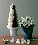 imagen Centro de mesa con flores para fin de año