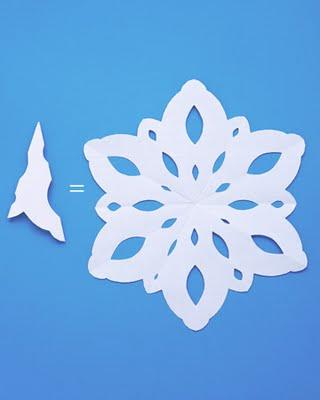 Copos de nieve para decorar las ventanas y espejos-06