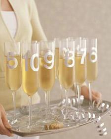 Prepara tus copas para el brindis de año nuevo