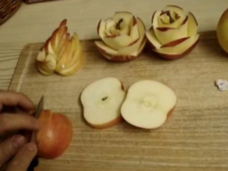 Aprende a tallar una manzana