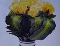 imagen Arreglo floral para bautismo o comunión
