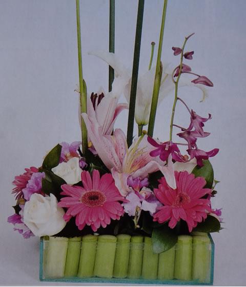 Arreglo floral para fiestas 2