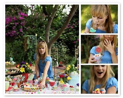 Alicia en el país de las maravillas para la fiesta de tus hijos 6