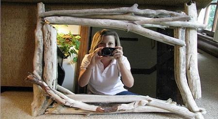 Espejo rustico para tu hogar