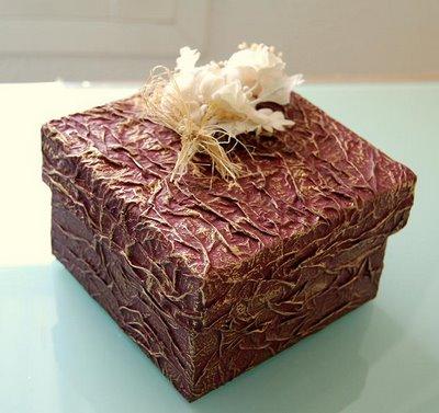 Aprende a reciclar y decorar envases y cajas bricolaje - Cajas de decoracion ...