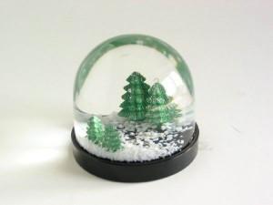 Una bola de nieve casera