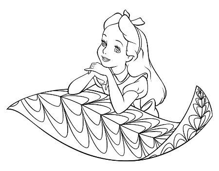 dibujos para colorear de Disney-04