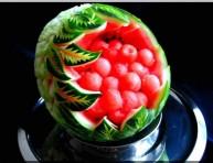 imagen El arte del tallado de frutas y verduras