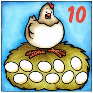 Láminas para aprender a contar-10