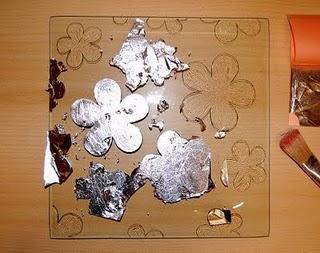 Plato decorado con pan de plata 4
