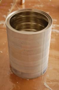 Transforma una lata en macetero 2