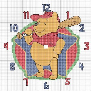 El De Pooh Es Para Poder Realizar Un Lindo Y Dulce Reloj Para