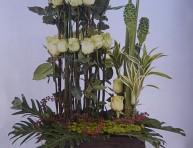 imagen Arreglo floral en verde