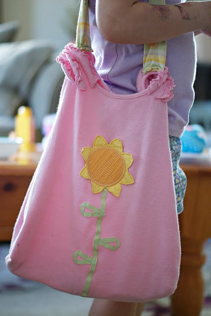 Como hacer bolsas con tela para niños - Imagui