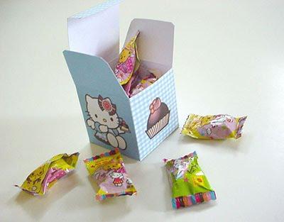 Cajitas de sorpresas de Hello Kitty 2