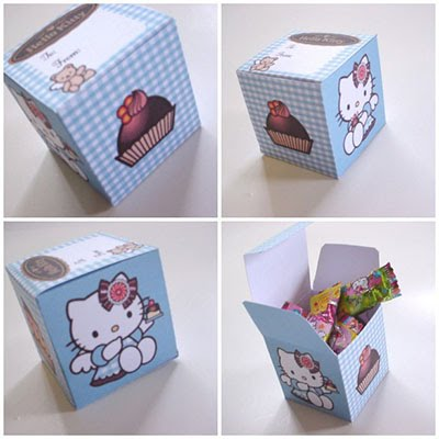 Cajitas de sorpresas de Hello Kitty 3