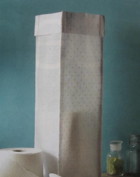Disfraza el papel higienico