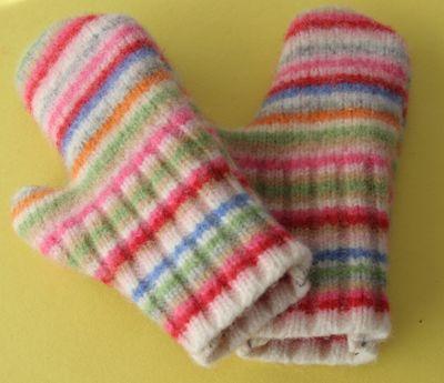 Guantes de lana para el frio