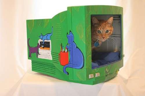 Recicla Tu Viejo Monitor Para Tu Gato Guia De Manualidades