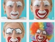 imagen Disfraces: maquillaje de payasito