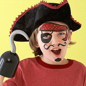 Disfraces maquillaje de pirata1