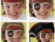 imagen Disfraces: maquillaje de pirata