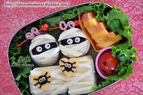 Tips para Halloween_ platos sanos decorados-04