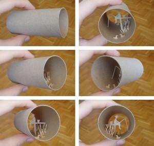 Una original forma de reciclar los rollos de papel higienico08