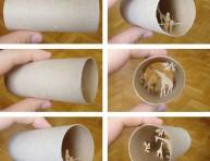 imagen Recicla los rollos de papel higiénico – Segunda Parte