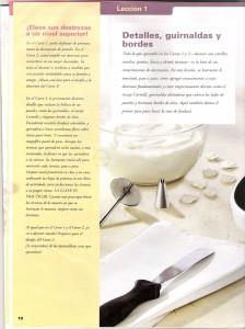 Aprende a hacer detalles, bordes y guirnaldas en tortas1