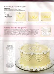 Aprende a hacer detalles, bordes y guirnaldas en tortas6