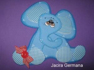 Elefantito en goma eva1