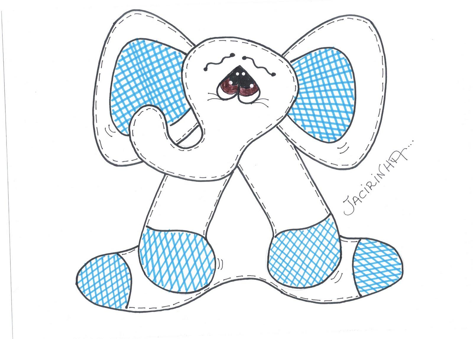 Elefantito en goma eva Artículo Publicado el 11.11.2010 por Libelula