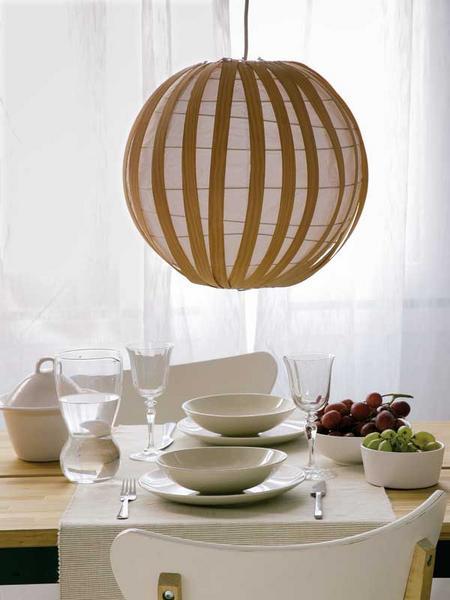 Manualidades para el hogar reciclando una l mpara de for Ideas para decorar tu hogar reciclando