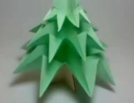 imagen Origami: árbol de navidad