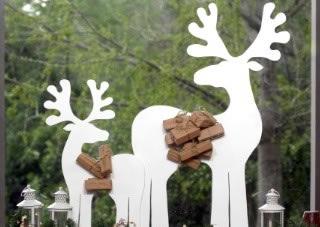 Renos en madera para decorar gu a de manualidades for Trineo madera decoracion