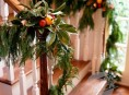 imagen Algunas ideas para decorar las escaleras en navidad