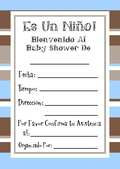 Baby Shower Invitaciones Para Imprimir Guía De Manualidades